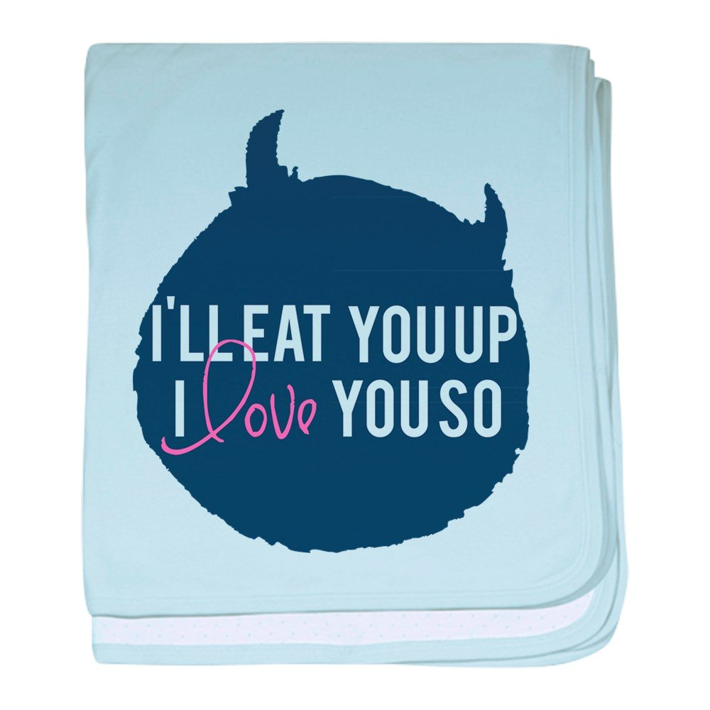 CafePress Eatyouup - Baby Blanket, Super Soft Newborn Swaddle