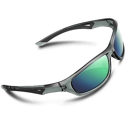 RIVBOS - Gafas de Sol polarizadas para Hombre y Mujer, para Ciclismo, béisbol 842