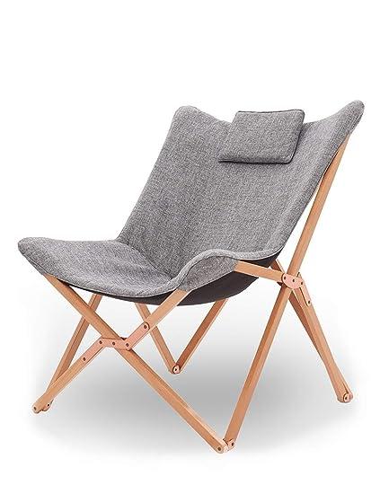 MXueei Chaise pliante Terrasse de jardin Confortable Outwell ...