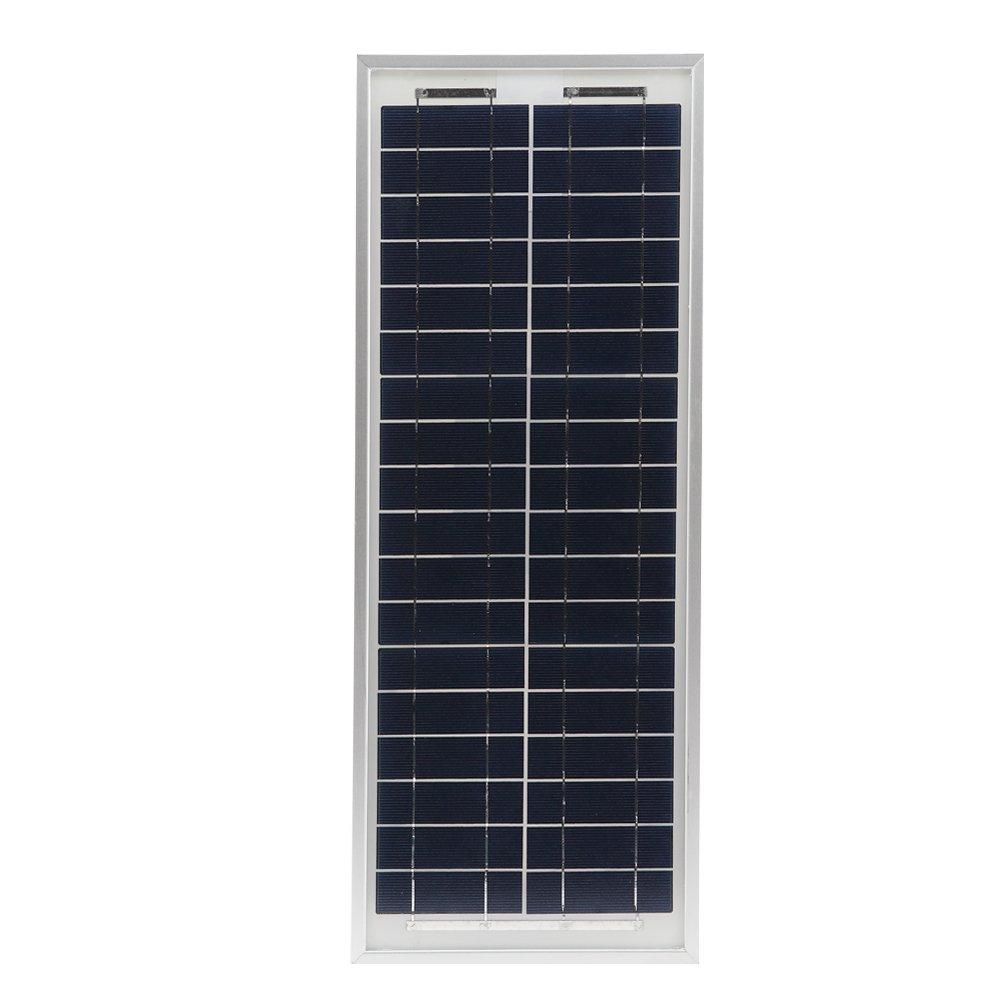 HQST 10 Watt 12Volt Off Grid Polycrystalline Portable Solar Panel for RV Marine Boat by HQST (Image #2)