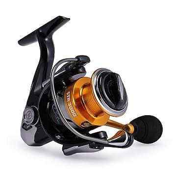 gosccess Spinning Carrete Carretes de pesca de acero inoxidable 14 ...