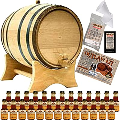 Outlaw Kit From American Oak Barrel - Make Your Own Honey Bourbon