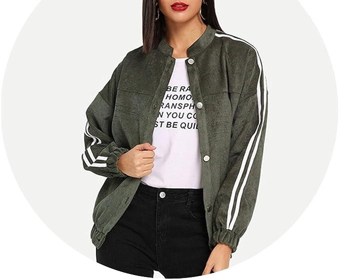 Amazon.com: Chaqueta para mujer, estilo casual con diseño de ...