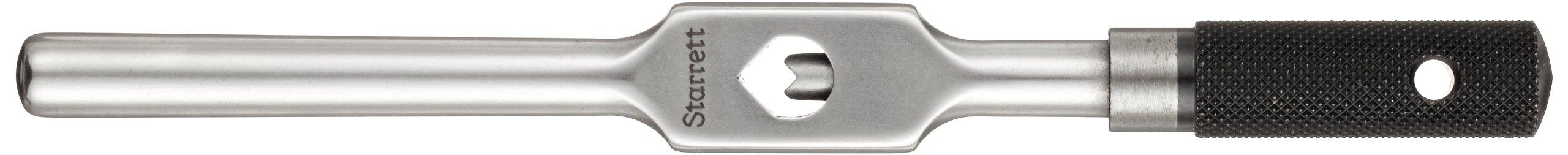 Starrett 91A Tap Wrench, 1/16'' - 1/4'' Tap Size, 3/32'' - 5/32'' Square Shank Diameter, 6'' Body Length by Starrett