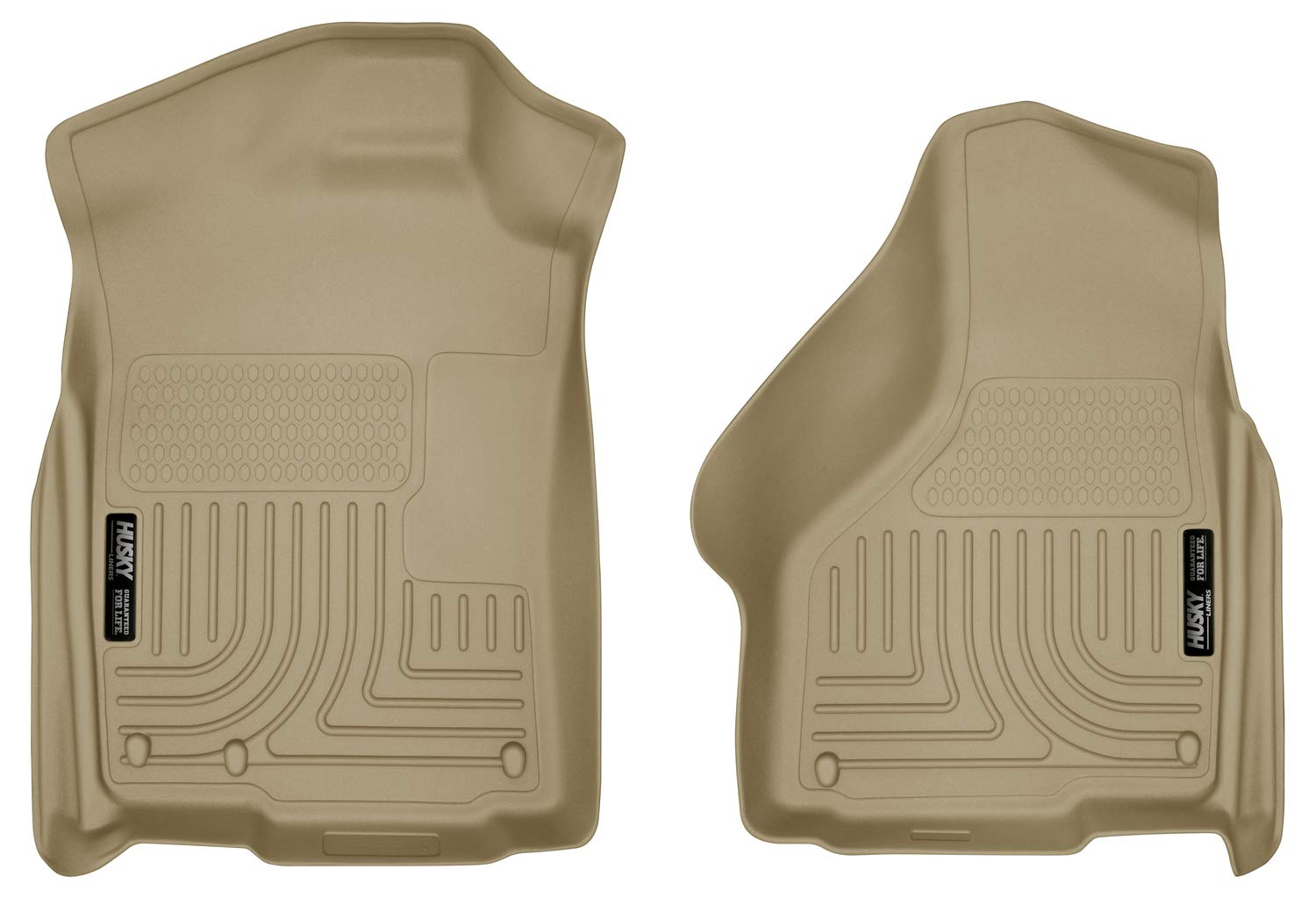 Husky Liners Front Floor Liners Fits 02-18 Ram 1500, 19 Ram Classic 1500, Quad/Standard Cab