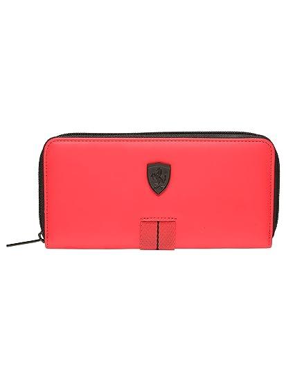 Ferrari - Monedero para mujer, color rojo: Amazon.es: Equipaje