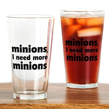 amazon com cafepress minions i need more minions pint glass