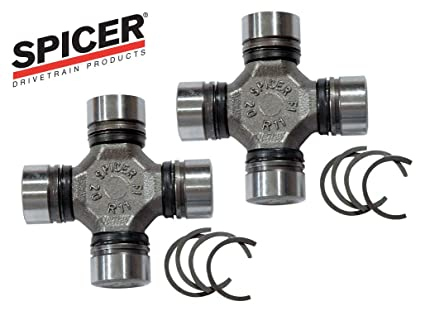 Spicer Dana 30/44 Heavy Duty Axle U-Joint Combo - Includes Pair of Spicer  5-760X Axle U-Joints