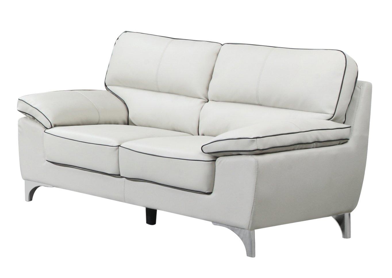 Super Blackjack Furniture 9436 Light Gray L Loveseat Leather Match Den Theyellowbook Wood Chair Design Ideas Theyellowbookinfo
