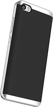 Xiaomi Mi 5 Funda, Estuyoya Protección interna TPU Flexible [Ultra Resistente] Marco Exterior Rígido PC efecto Metal [Anti Golpes] Carcasa Híbrida Bumper Xiaomi Mi5: Amazon.es: Electrónica