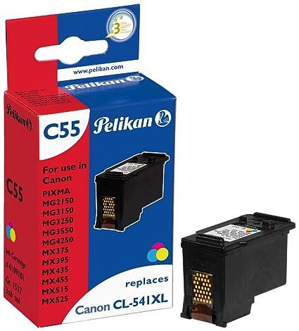 Pelikan 4109101 - Cartucho de tinta Canon Pixma MG4250 - CLI-541 ...