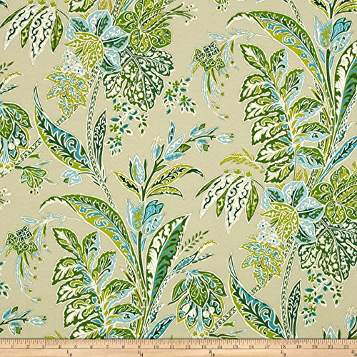 Tommy Bahama Indoor/Outdoor Cayo Vista Jungle Fabric By The Yard (Waverly Outdoor Cushions)