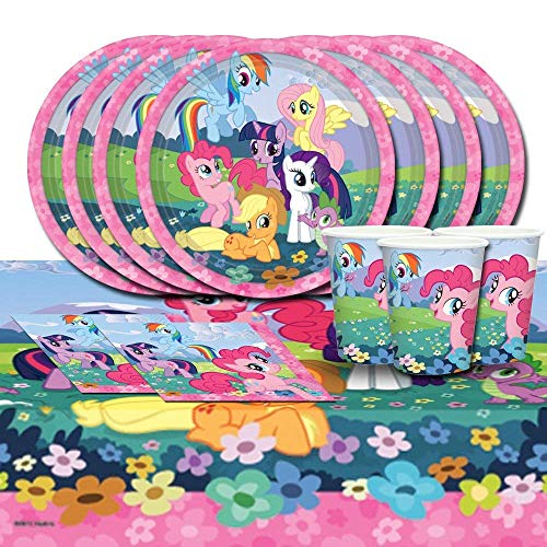 BirthdayExpress My Little Pony Party Pack for 16
