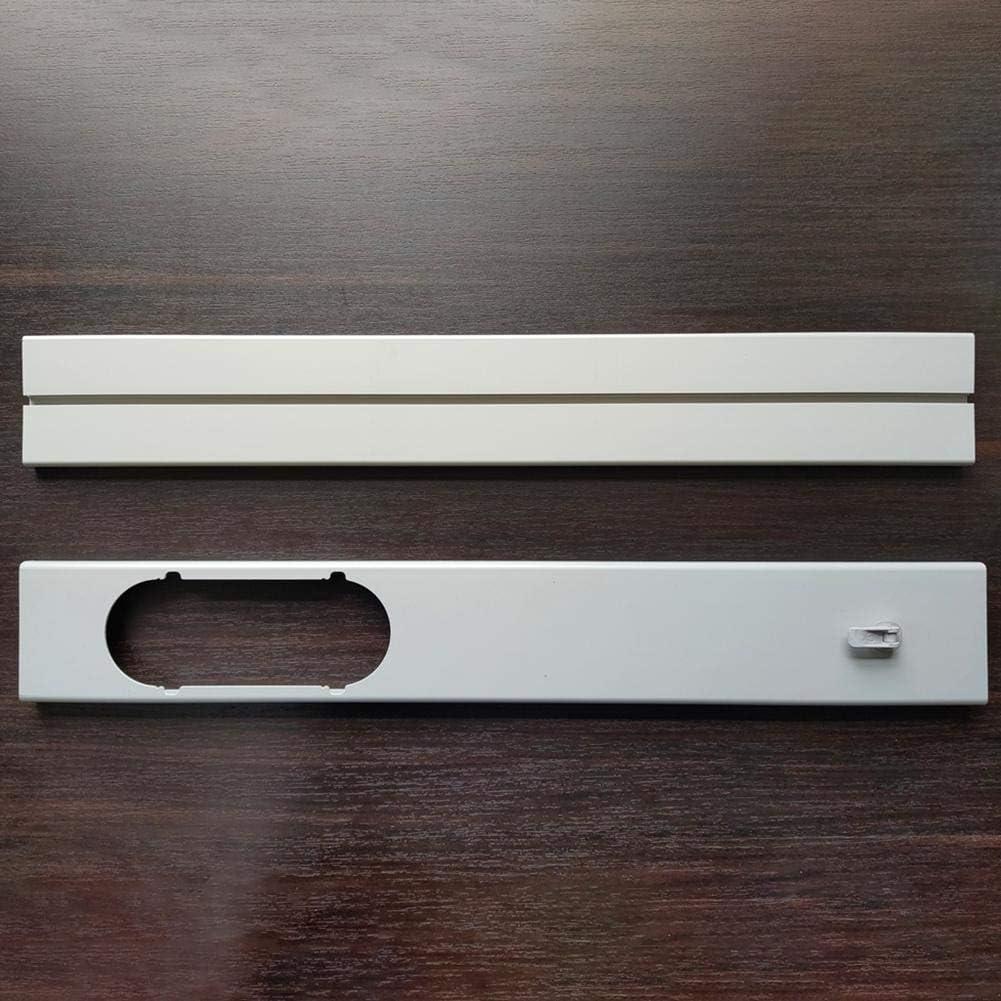 rosemaryrose Condizionatore dAria Tubo per Finestra Kit di condizionamento per guarnizioni Portatili Adattatore per finestre Kit per Finestra Portatile Regolabile Kit per estrattori per Piastre per