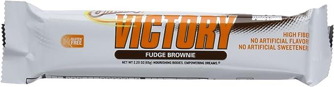 Oh yeah victory bars, 12 barritas de 65gr - 21gr de proteína + 17gr de fibra