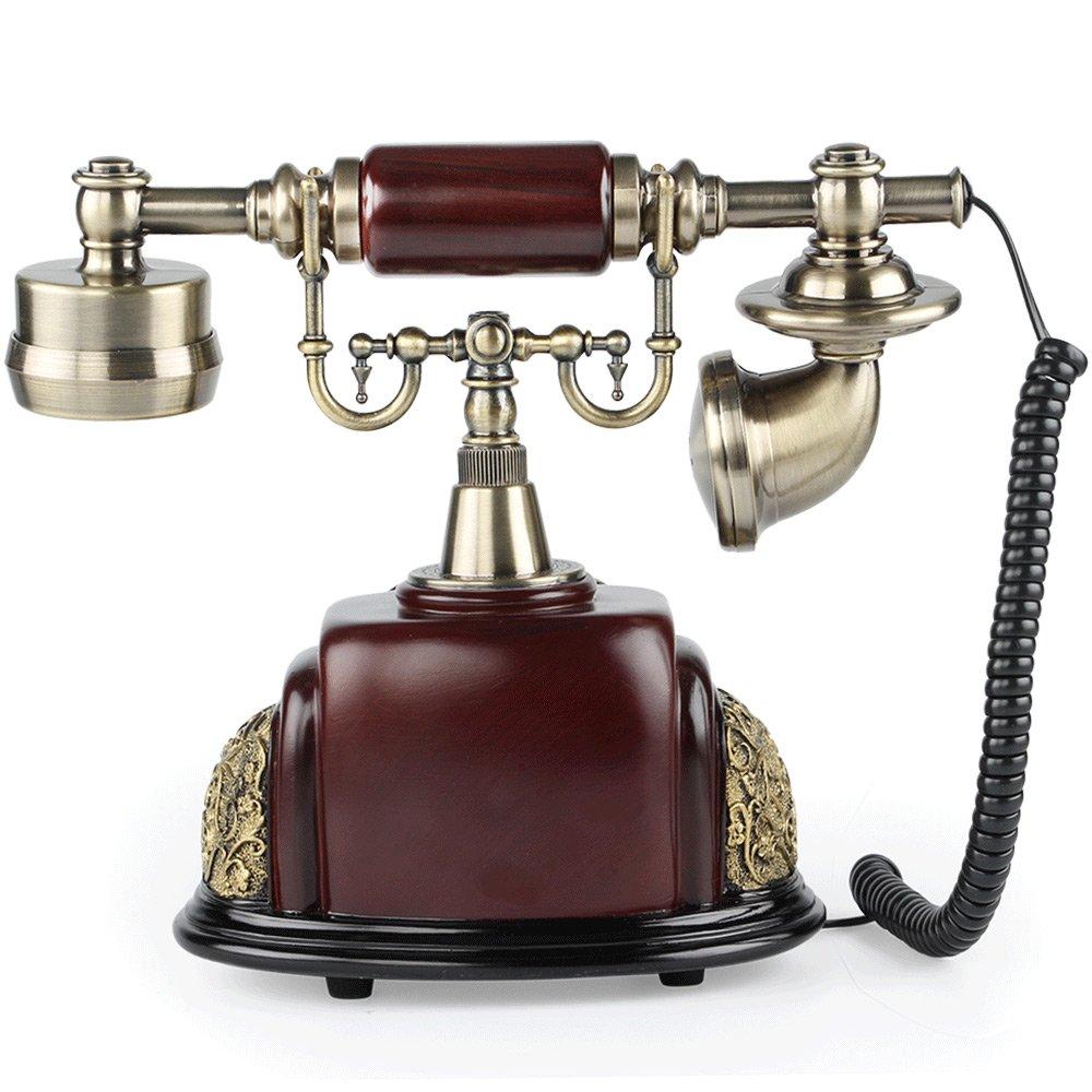 Amazon.com : LNC Retro Vintage Antique Style Rotary Dial Desk Telephone  Phone Home Living Room Decor : Electronics - Amazon.com : LNC Retro Vintage Antique Style Rotary Dial Desk