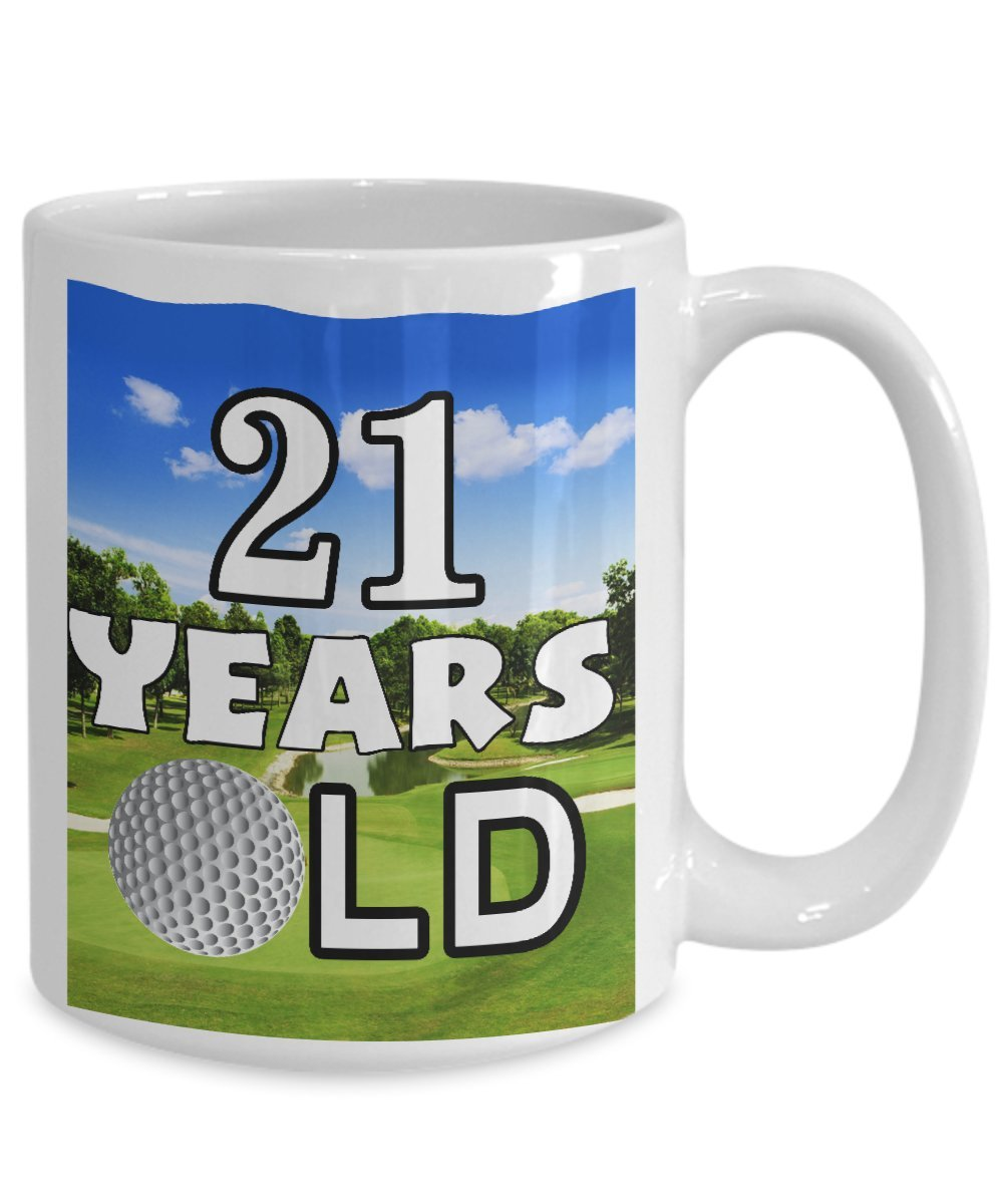 Amazon Funny Golf Mug Coffee 11 OZ