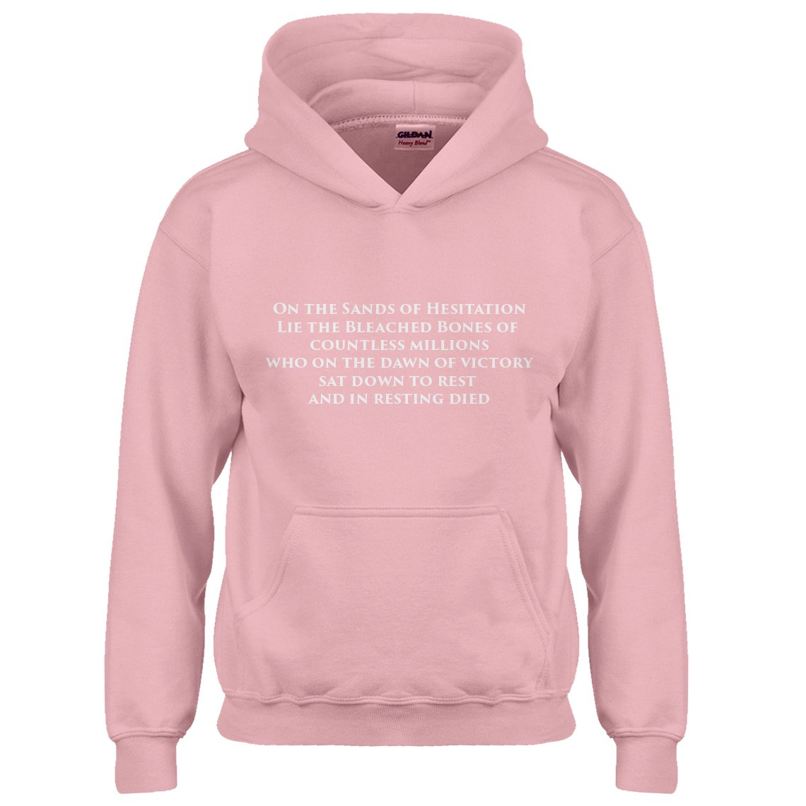 Indica Plateau Youth On The Sands of Hesitation Kids Hoodie