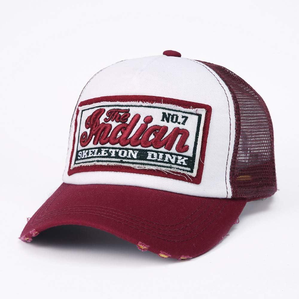 BHYDRY Casquette de Baseball /à Queue de Cheval Sun Sport Caps