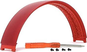 Piezas de repuesto para auriculares inalámbricos Beats Studio 3 Studio3 (rojo)