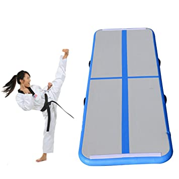 Amazon.com: Hinchable Colchoneta de gimnasia (Air Tumbling ...