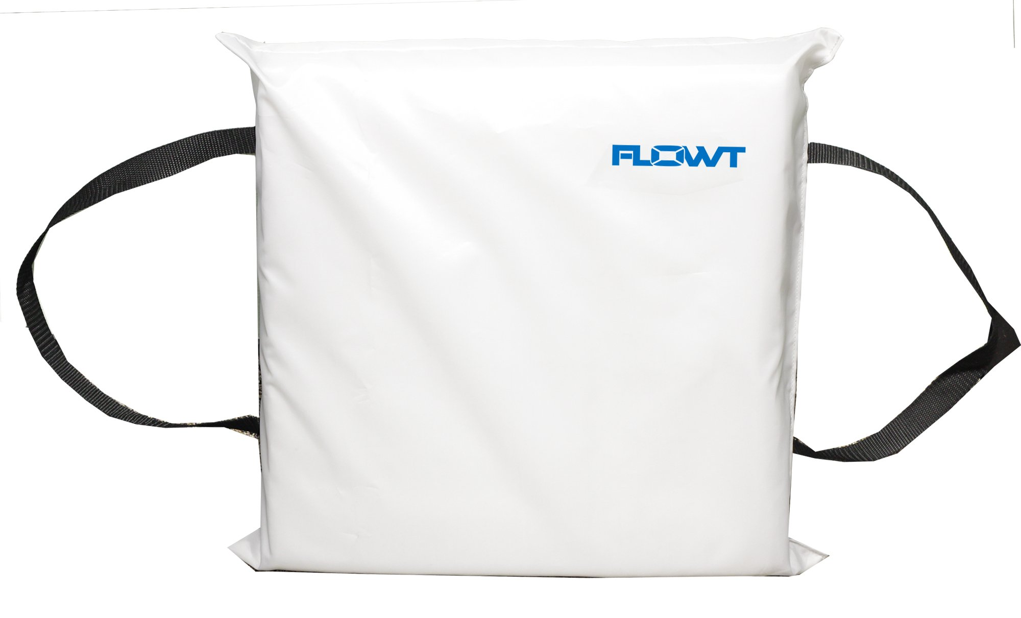 Flowt 40104 Type IV Throwable Floatation Foam Cushion, USCG Approved, White by Flowt