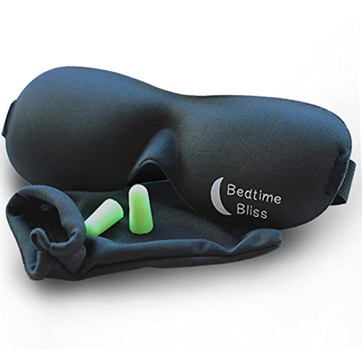 The Sleep Mask by Bedtime Bliss travel product recommended by Maria on Lifney.