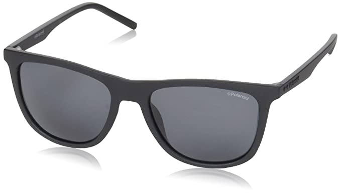f42fb8833 Polaroid Men's PLD 2049/S M9 Sunglasses, MATT Black, 55: Amazon.co ...