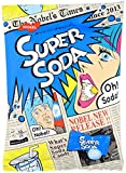 import soda - Nobel Super Soda/lemon/cola Candy, 3.1-ounce Bags (Pack of 2) [Japan Import] - Sour and Fizzy Tastes (Soda)