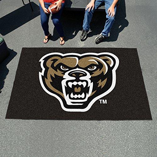 (Fanmats 4389 NCAA Oakland University Ulti-Mat)