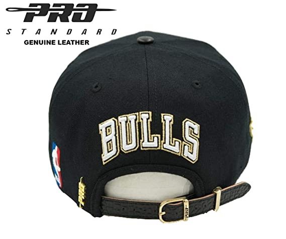 cheap for discount 65c02 c2378 Sports   Outdoors Pro Standard Chicago Bulls 10K Gold Plated Genuine  Leather Strap Cap