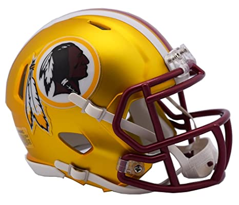 Image Unavailable. Image not available for. Color  NFL Washington Redskins  Alternate Blaze Speed Mini Helmet 8a892a628
