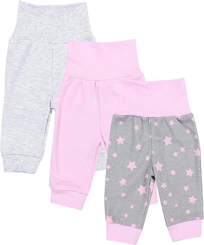 TupTam Pantalones de Bebé para Niñas. Paquete de 3: Amazon.es ...