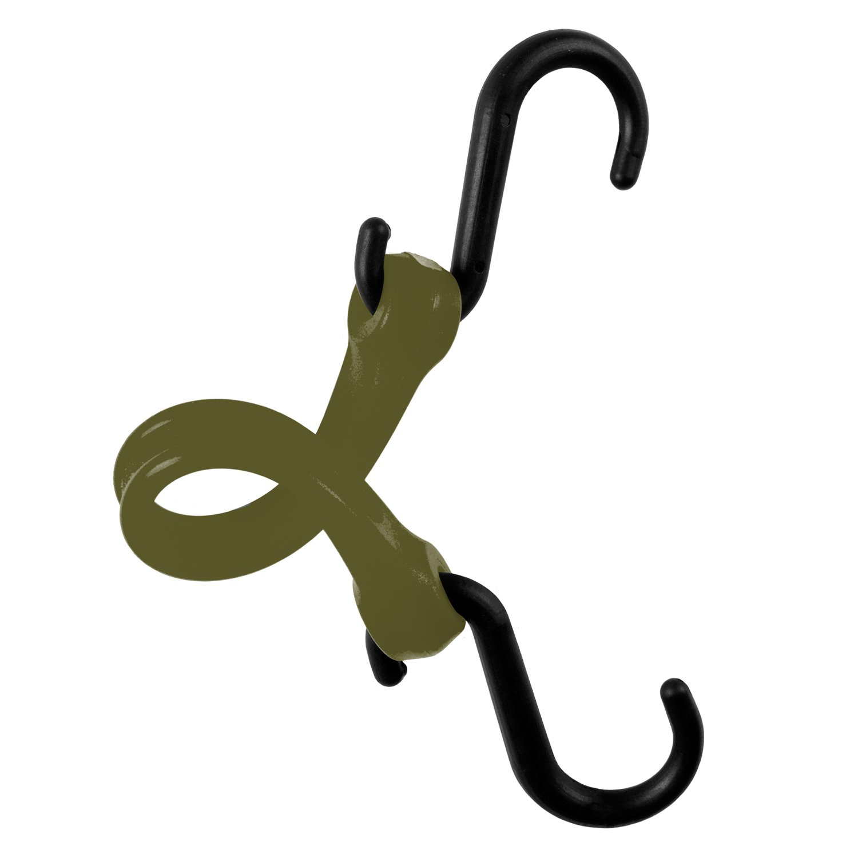 Safety Orange Nylon Hook PBNH12NG Standard Duty Strap 12 The Perfect Bungee by BihlerFlex