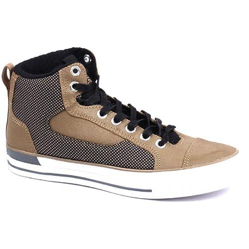 0dbe11016c7 Converse 149421C CT Asylum Mid Sand Dune Black White UK 11 EUR 46.5 Men  Women Unisex  Amazon.co.uk  Shoes   Bags
