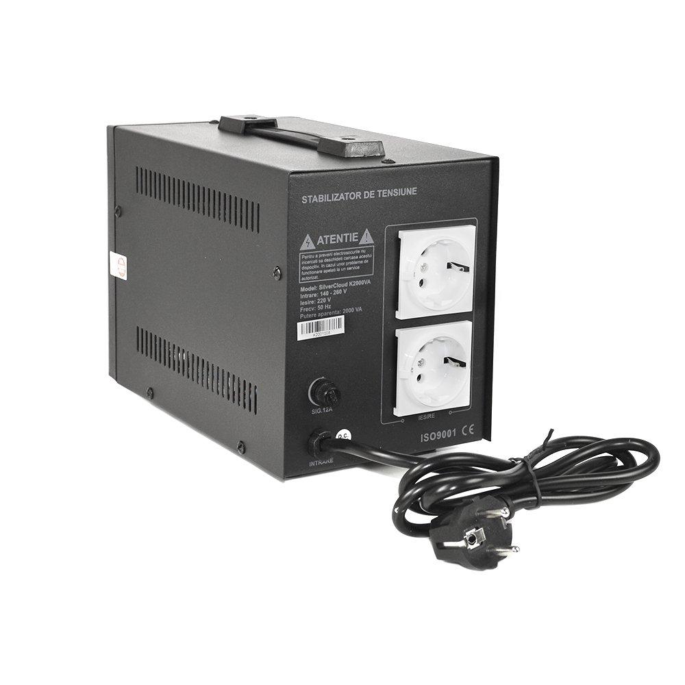 Convertisseur de Tension Silvercloud 2000/VA 1200/W