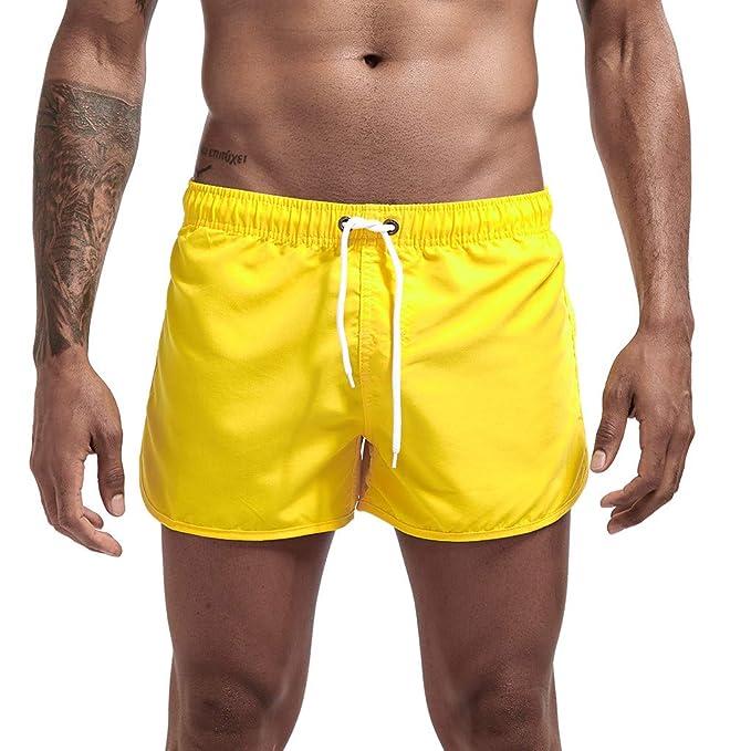 LUNULE Bañador Hombre, Pantalones Cortos Hombre Verano ...