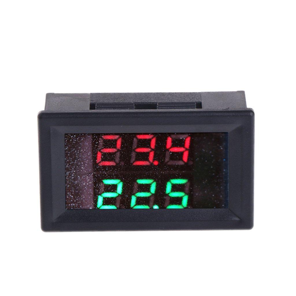 /28/V Precisi/ón Cuigu Sonda Impermeable al Agua de Metal Digital de Term/ómetro de NTC de CC 4/