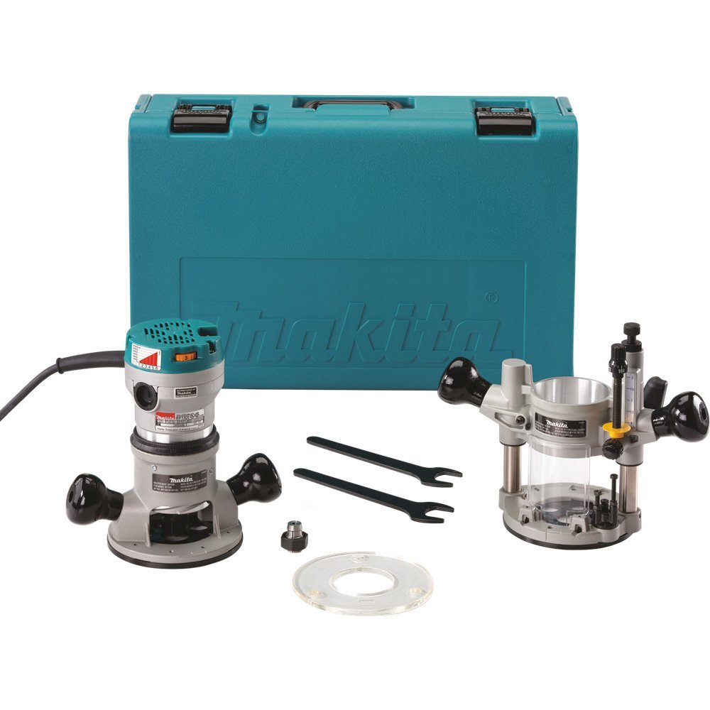 Makita RF1101KIT2 2-1/4-Horsepower Variable Speed Plunge Router Kit