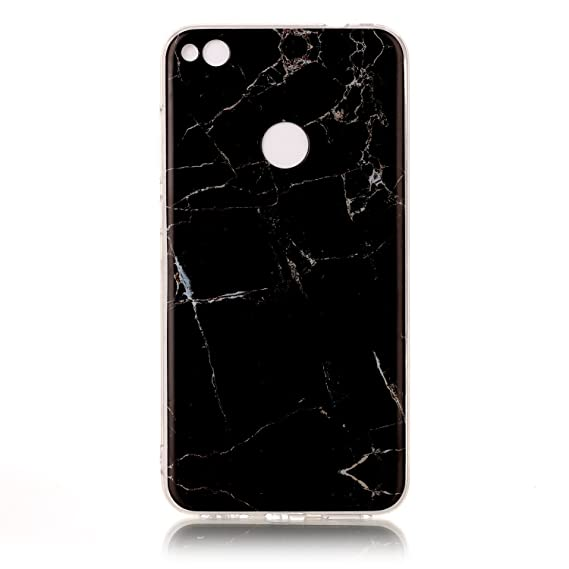 Amazon.com: Lomogo [Marble Pattern] Huawei P8 Lite 2017 ...