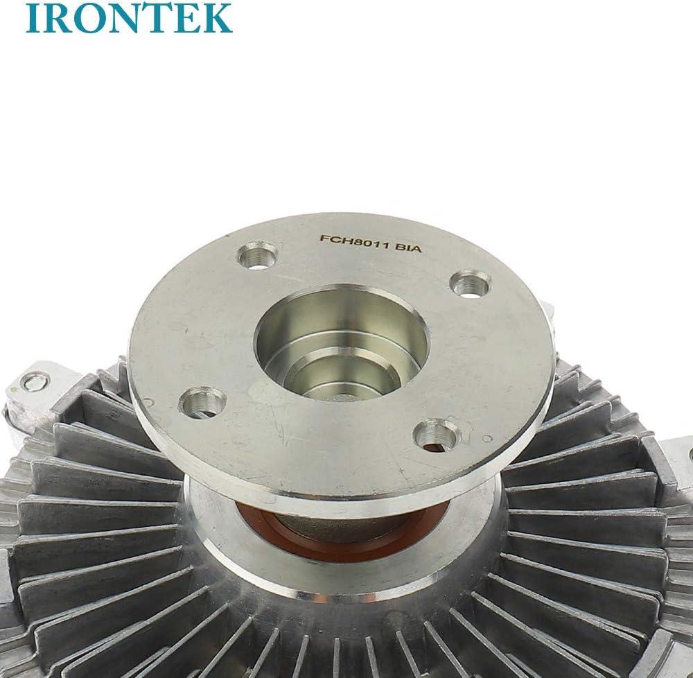 05-14 Frontier 4.0L, 12-14 NV1500 4.0L//NV2500 4.0L// NV3500 4.0L,05-12 Pathfinder 4.0L// Xterra 4.0L Radiator Fan Clutch 21082EA200 IRONTEK 1712082Z10 Engine Cooling Fan Clutch FITS Nissan