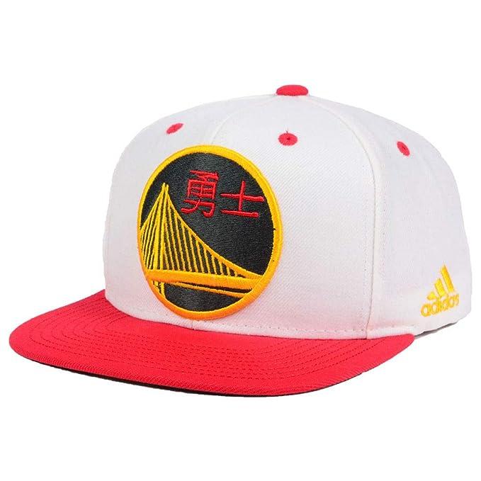f94412eaf4da10 Amazon.com : adidas Golden State Warriors Chinese New Year Hook Adjustable  Snapback Hat/Cap : Clothing