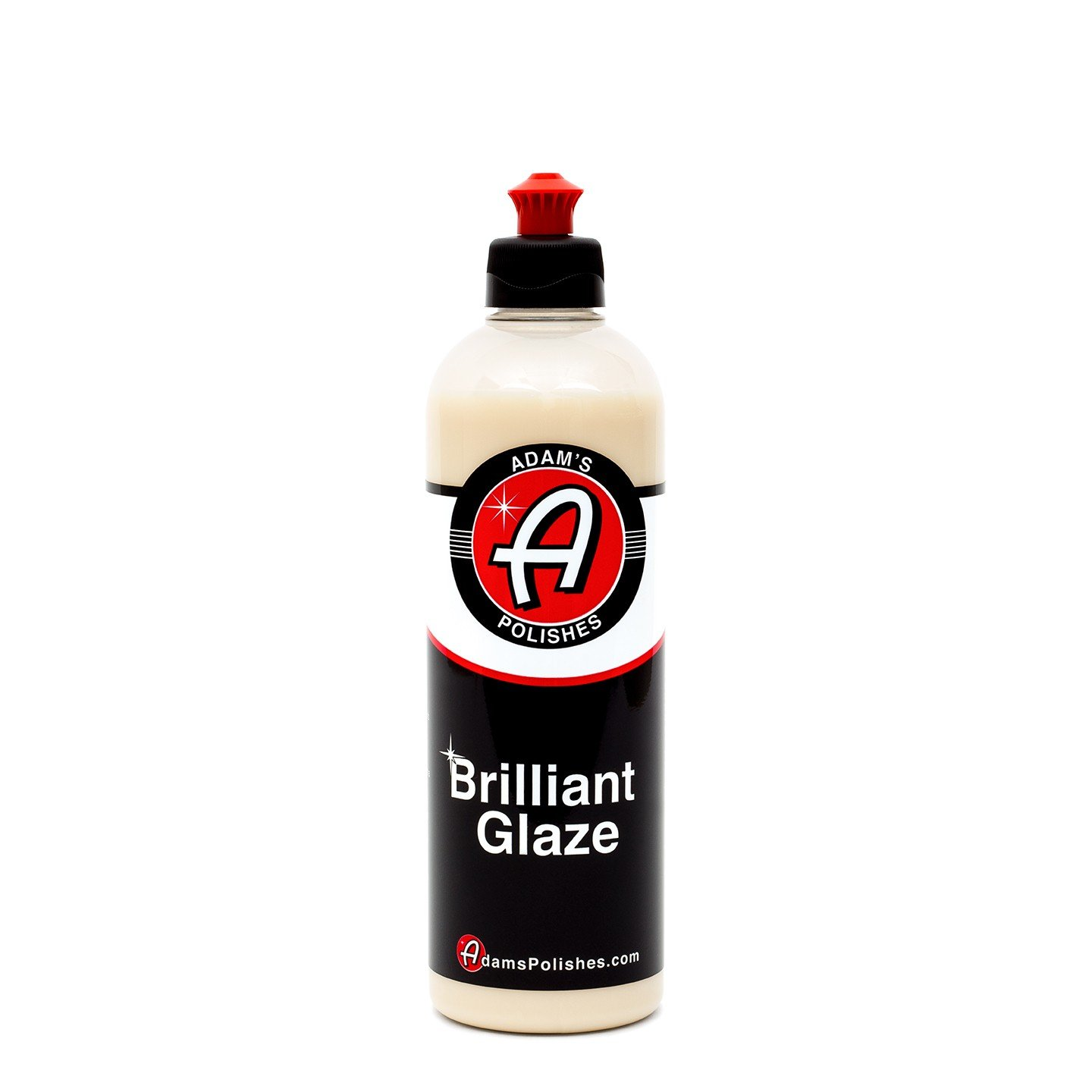 Adam's Brilliant Glaze 16oz - Amazing Depth, Gloss and Clarity - Achieve that Deep, Wet Looking Shine - Super Easy On and Easy Off (16 oz)