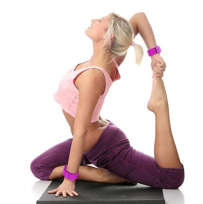Egoelife - Muñequera Ajustable para Yoga, Danza, Correr ...