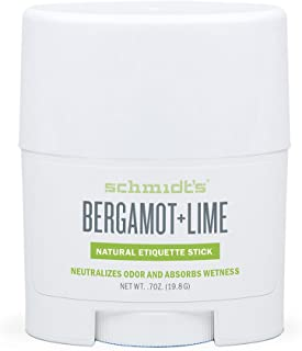 product image for Schmidt's Bergamot and Lime Natural Deodorant Stick Travel Size 0.7 ounces, 19.8 grams