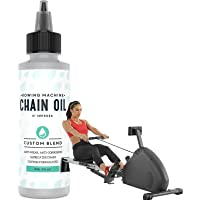 Impresa Rowing Machine Chain Oil Compatible with Concept 2, 4 Oz, Premium Custom-Formulation for Exercise Rower Chains…