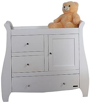 promo code 34a44 9b031 Tutti Bambini Lucas Chest Changer (White): Amazon.co.uk: Baby