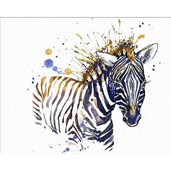 22c10a10d6cf5 7Dots Art. Baby Animals. Watercolor Art Print, Poster 8