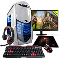 Pc Gamer G-fire htg-308 Amd A6 7400k 8gb (radeon R5 2gb Integrada) 1tb monitor 18,5 - Azul