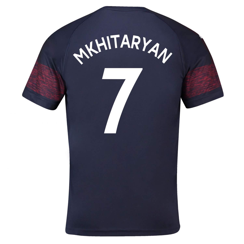 wholesale dealer 01a49 31ac1 Amazon.com: PUMA MKHITARYAN #7 Arsenal FC Away Men's Soccer ...